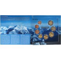 Andorra 2014 Euro coins BU set