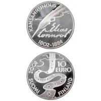 Finland 2002 Elias Lönnrot PROOF