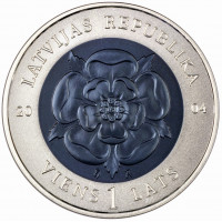 Latvia 2004 Coin of Time I