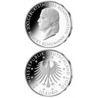 Germany 2010 10 euro Robert Schumann J