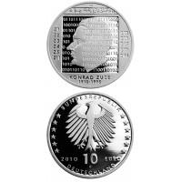 Germany 2010 10 euro Konrad Zuse G
