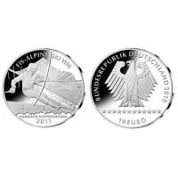 Germany 2010 10 euro Alpine Ski-WM
