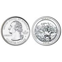 USA 2012 Quarter Denali D