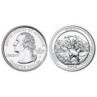 USA 2012 Quarter Denali P