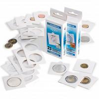 LEUCHTTURM coinholder 17,5mm. SELF-ADHESIVE