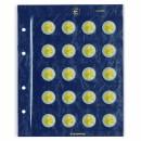 Leuchtturm sheets VISTA for two euro coins