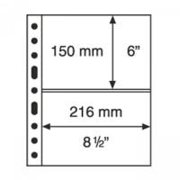 Leuchtturm coin sheets GRANDE two horizontal stripes