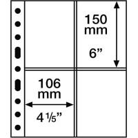 Leuchtturm coin sheets GRANDE four-way division