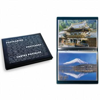 Leuchtturm ROUTE Postcards pocket album for 40 postcards with 20 sheets