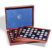 Leuchtturm pressentation case Volterra Quattro de Luxe for 140 2-euro coins in capsulas