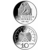 Germany 2006 10 euro Karl Friedrich Schinkel F