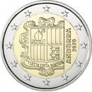 Andorra 2020 2 euro regular coin