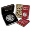 Australia 2012 Australian Lunar Silver Coin Series II 2012 Year of the Dragon