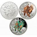 Austria 2021 3 euro Styracosaurus Albertensis