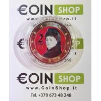 Austria 2015 2 euro COLORED