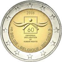 Belgium 2008 60th anniversary of the Universal Declaration of Human Rights