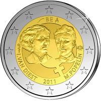 Belgium 2011 100th anniversary of International Women's Day