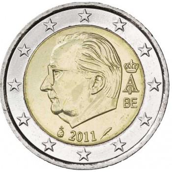 Belgium 2011 2 euro regular coin