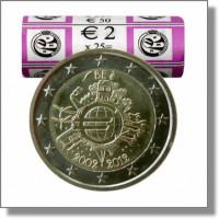 Belgium 2012 Ten years of the Euro Roll