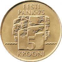 Estonia 1994 5 Kroon Eesti Pank 75