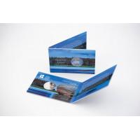 Estonia 2018 Centenary of the Republic of Estonia Coin card