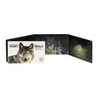 Estonia 2021 Estonian national animal The wolf coin card