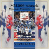 Finland 2003 Euro coins BU set Ice Hockey