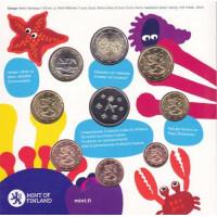 Finland 2010 Euro coins BU set Baby