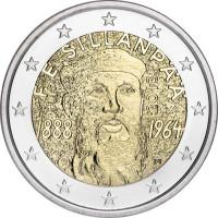 Finland 2013 The 125th anniversary of the birth of Nobel Prize winning author F. E. SILLANPÄÄ