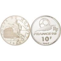 France 1997 10 Francs Football WorldCup 1998