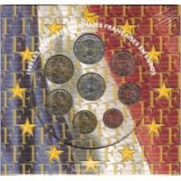 France 2000 Euro coins BU set