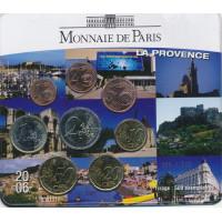 France 2006 Euro coins BU set La Provence
