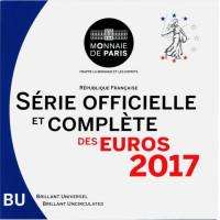 France 2017 euro coin BU set