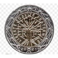 France 2021 2 euro regular coin