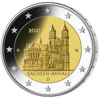 Germany 2021 Saxony-Anhalt - Magdeburg Cathedral (any random mint)