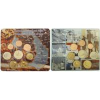 Greece 2012 Euro coin BU set