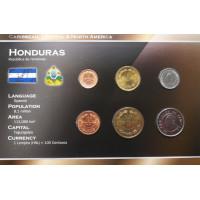 Honduras 1956-2007 year blister coin set