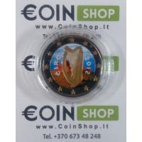 Ireland 2012 2 euro COLORED