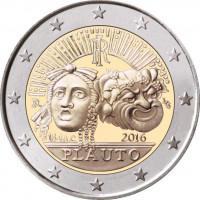 Italy 2016 2200th anniversary of the death of Tito Maccio Plauto