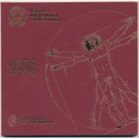 Italy 2008 Euro coins BU set