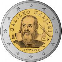 Italy 2014 450th Anniversary of the birth of Galileo Galilei (born in 1564)