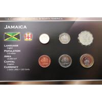 Jamaica 1996-2003 year blister coin set