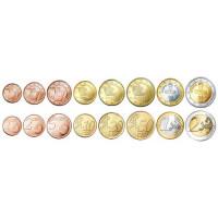 Cyprus 2015 Euro coins UNC set