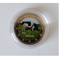 Latvia 2016 Cow Colored