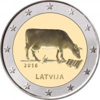 Latvia 2016 Cow