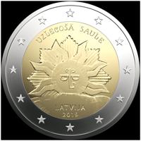 Latvia 2019 Rising sun