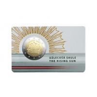 Latvia 2019 Rising sun BU coincard