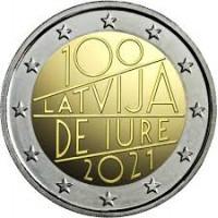 Latvia 2021 The 100th anniversary of Latvia's international recognition de iure