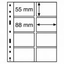 Leuchtturm coin sheets OPTIMA for coin cards