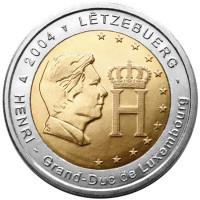 Luxembourg 2004 Effigy and monogram of Grand-Duke Henri